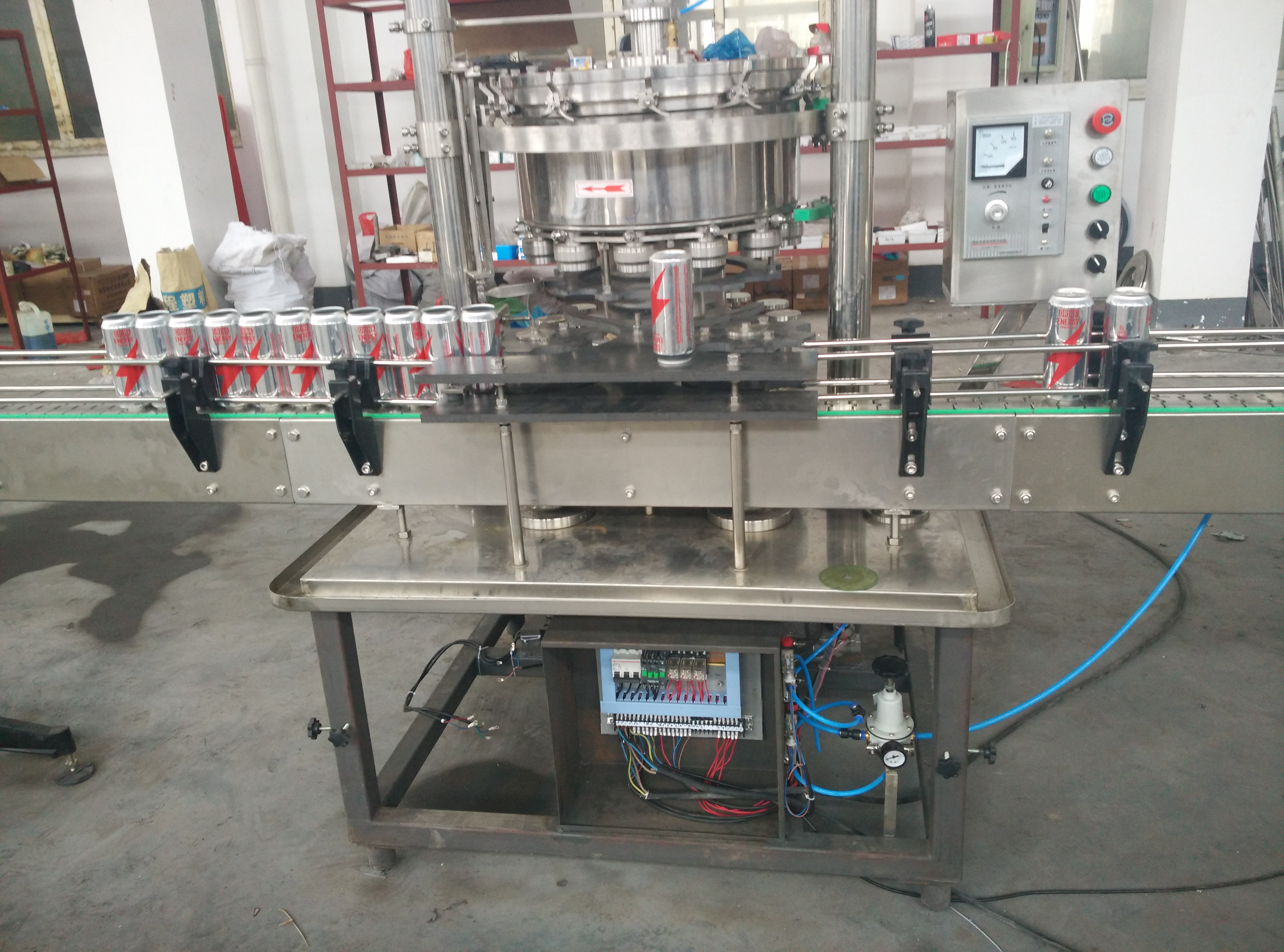 1200CPH Beer Can Filling Machine