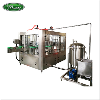 glass bottle filling ropp capping machine