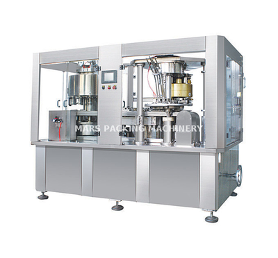Juice Can Filling Sealing 2 In 1 Machine(GCF18-4)