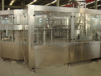 Carbonated Soft Drink Filling Machine(DCGF80-80-20)